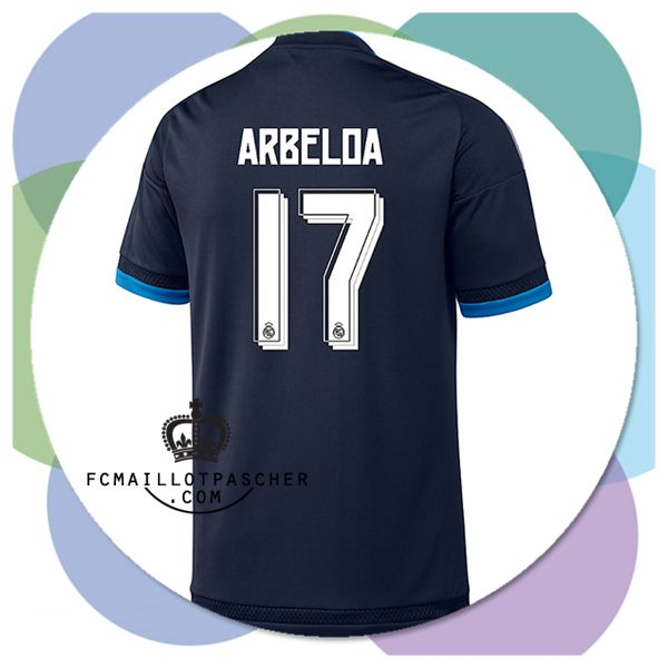 boutique maillot madrid Arbeloa third 2016 flocage officiel