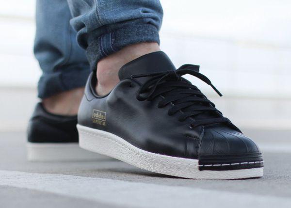 Adidas Superstar Triple White On Feet