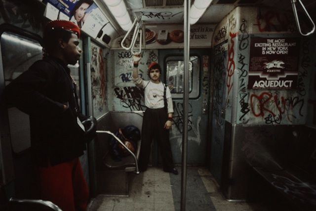 Grit, Grime and Graffiti: NYC Subway 1981 by Christopher Morris