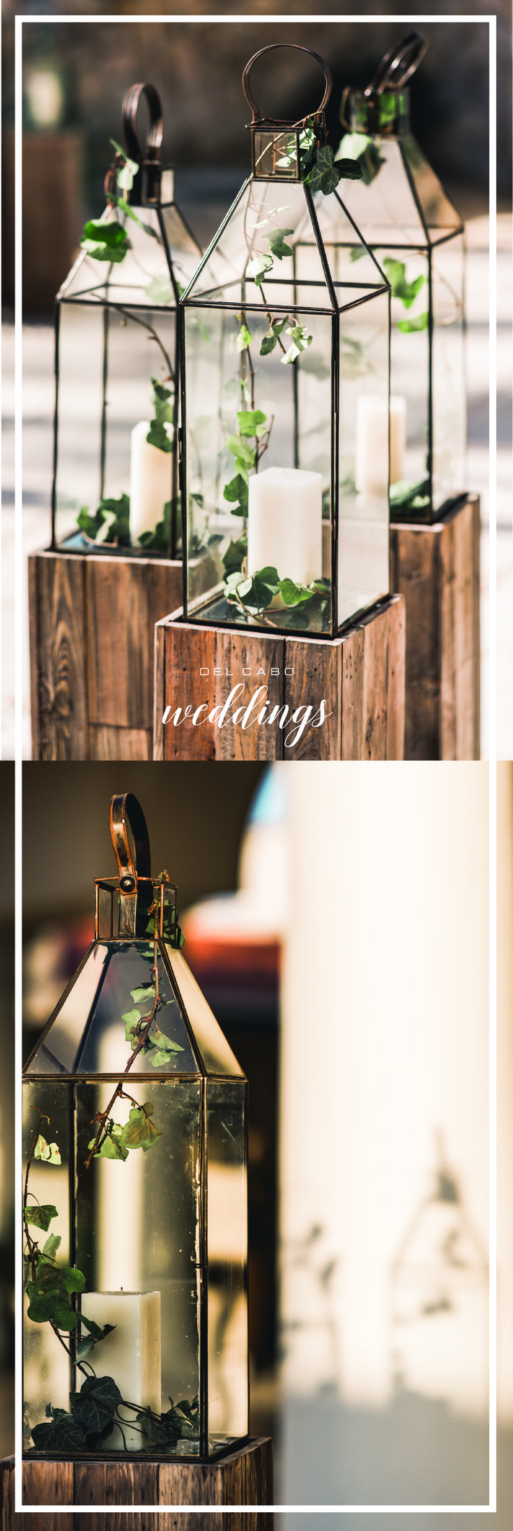 It's all about the details! Find in our rustic wedding ideas board different options for your destination wedding in Cabo!
