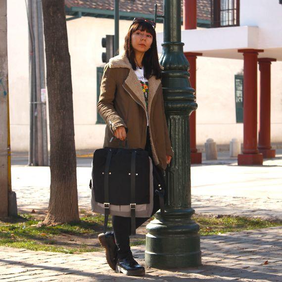 Mochila Modelo A Version Tordo Disponible en www.cotorra.cl