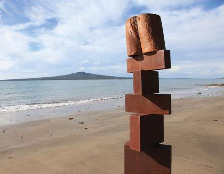 NZ Sculpture on Shore exhibition in Auckland