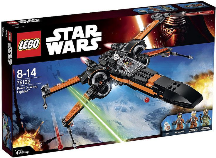 LEGO Star Wars 7: The Force Awakens - 75102 Poe's X-Wing Fighter