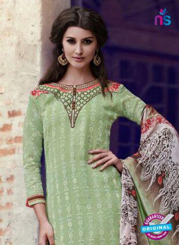 Teazle 1801 - Green & Brown Color Kota Doria Designer Suit