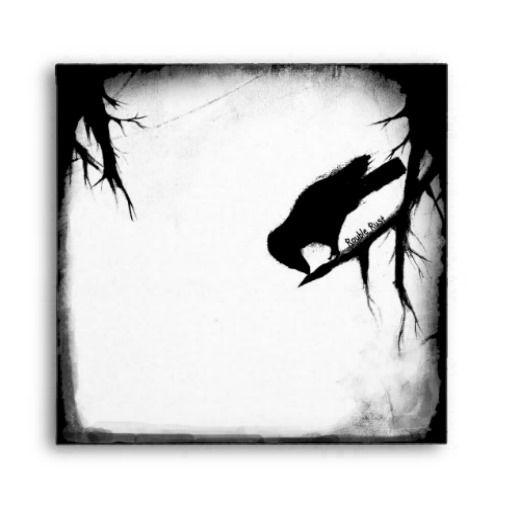 Black Crow / On Hallowed Ground Envelope