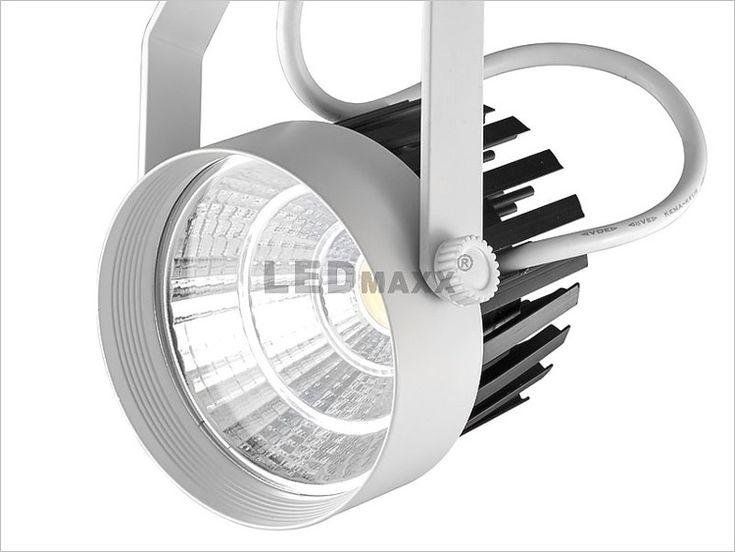 Reflektor szynowy LED 24W LedMaxx EPISTAR EPI-24BW-310HQ ✅   Żarówki LED Reflektory Szynowe  