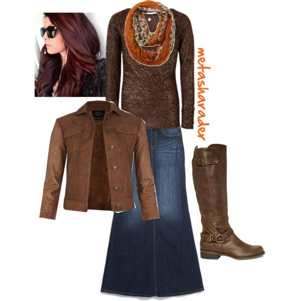 A fashion look from November 2014 featuring BKE Boutique tops, AllSaints jackets and MANGO skirts. Browse and shop related looks.