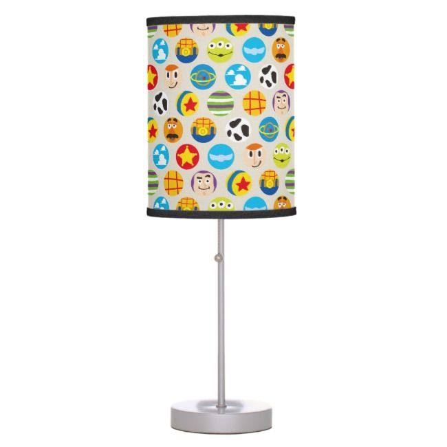 Toy Story Toy Icon Pattern Table Lamp Zazzle Com Toy Story Gifts Lamp Toy Story Characters