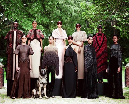"Very ""Game of Thrones"" Chic - Givenchy Haute Couture Winter 2013"
