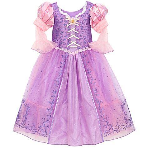 Vestido da rapunzel enrolados - Imagui