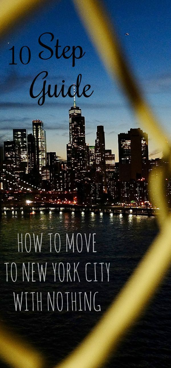 If you have ever thought about moving to New York …