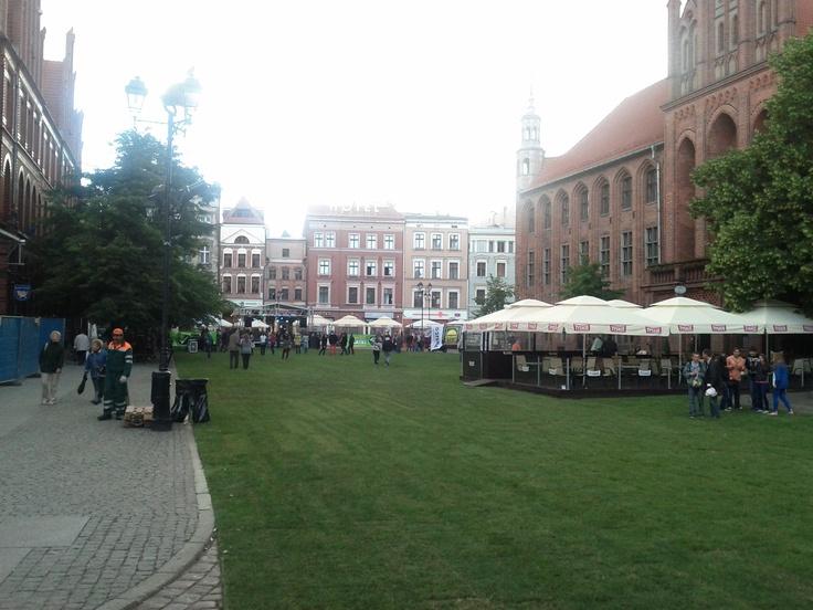 A medieval Toruń é a cidade natal de Nicolaus Copernicus.