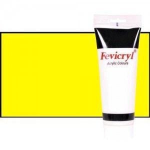 Material Bellas Artes - Pintura - Acrílico Fevicryl color amarillo primario (200 ml) | totenart.com