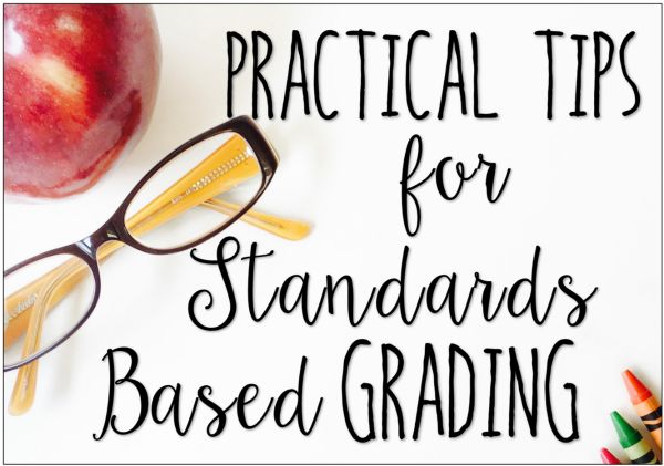 Are you using standards based grading? This post shares practical tips to make it easier and more efficient to use standards based grading.