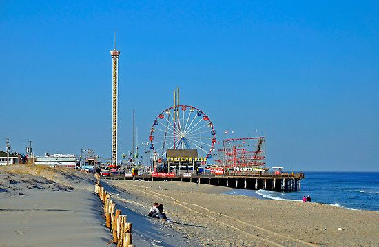 Seaside heights nj even before the jersey shore was cool for Nj shore fishing