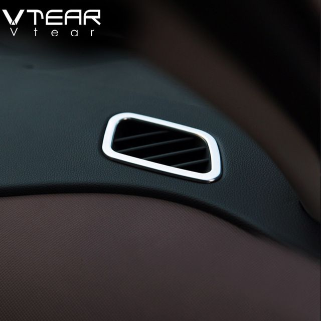 6fa79571fbe Vtear For Hyundai Creta ix25 air conditioner Vent outlet Cover Styling ABS  Chrome Decoration interior mouldings Accessories 2017 Review