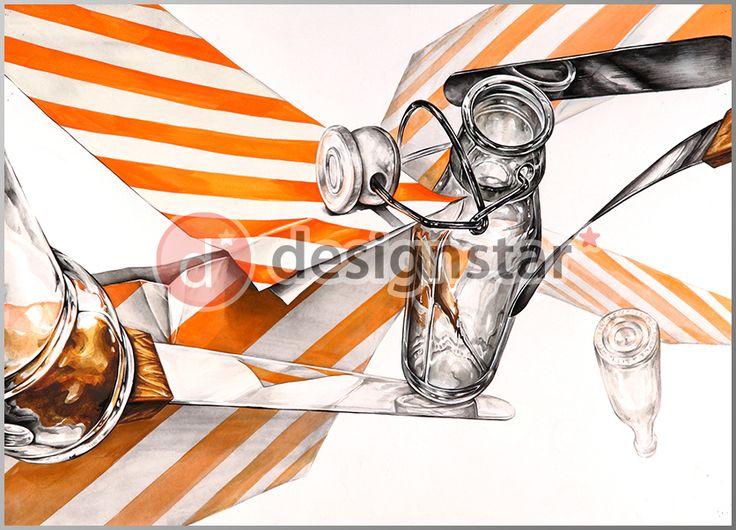 http://blog.naver.com/design-star #디자인스타, #미술학원, #기초디자인, #나이프, #유리병, #색지
