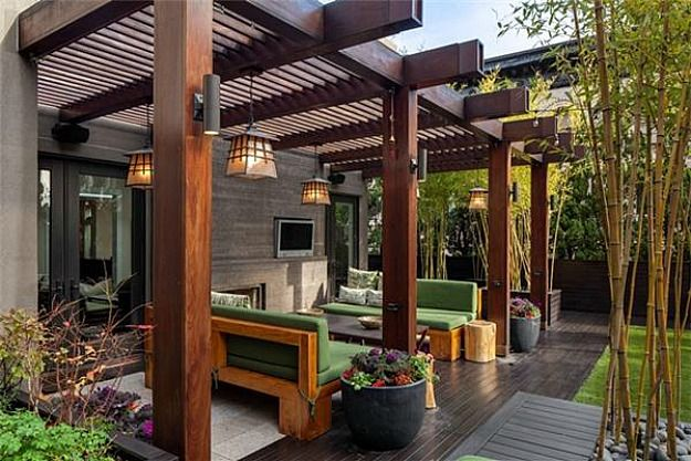 Love this outdoor space  Kelly Ripa & Mark Consuelos Selling SoHo Penthouse