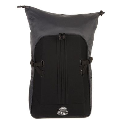 Real Madrid Travel Backpack - Black: Real Madrid Travel Backpack - Black