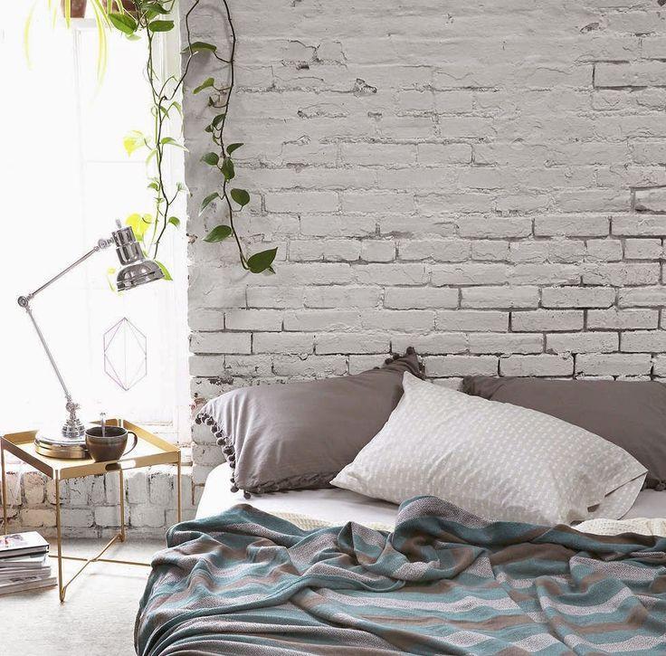 De mooiste interieurs met witte bakstenen muren