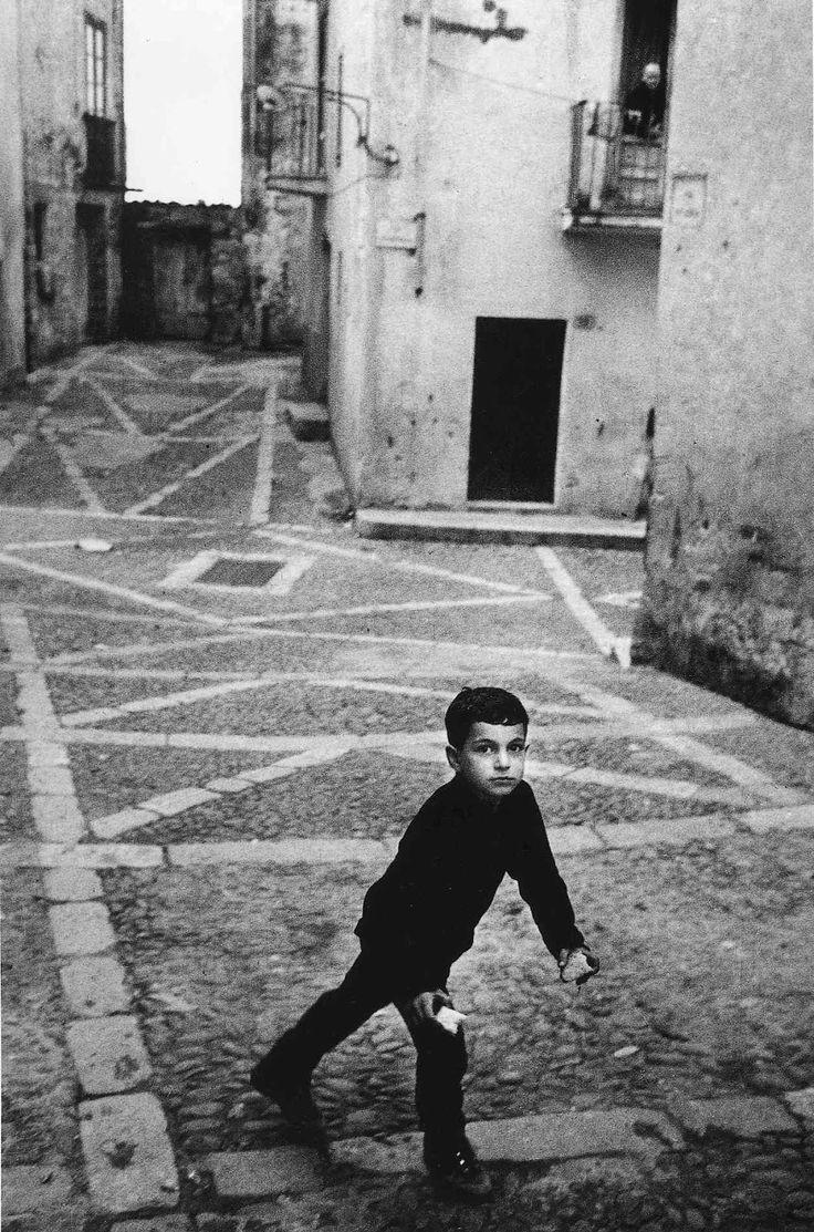 byEnzo Sellerio  Cefalu, Sicily, Italy, 1969