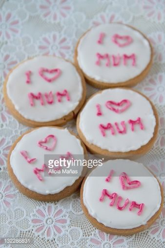 Stock Photo : Decorated cookies