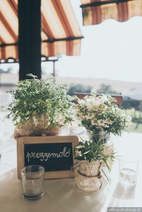 Centrotavola Matrimonio Stile Rustico : Oltre fantastiche idee su centrotavola di erbe per
