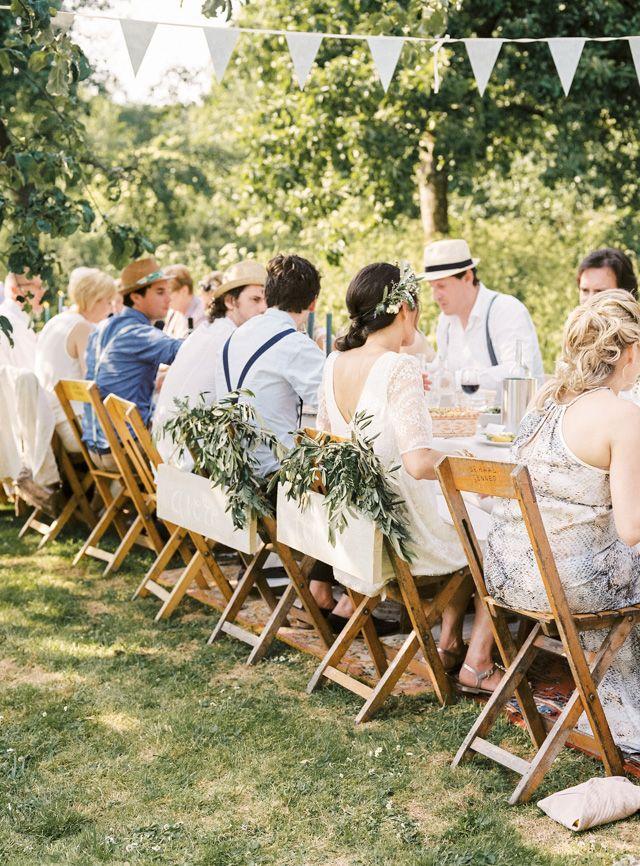 Prachtige lange eettafels!