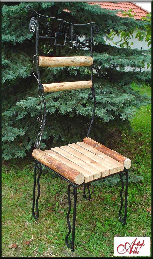 Chair in the garden...