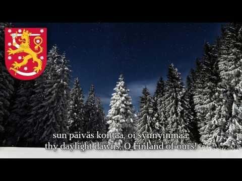 Finnish National Song -Finlandia hymni - YouTube