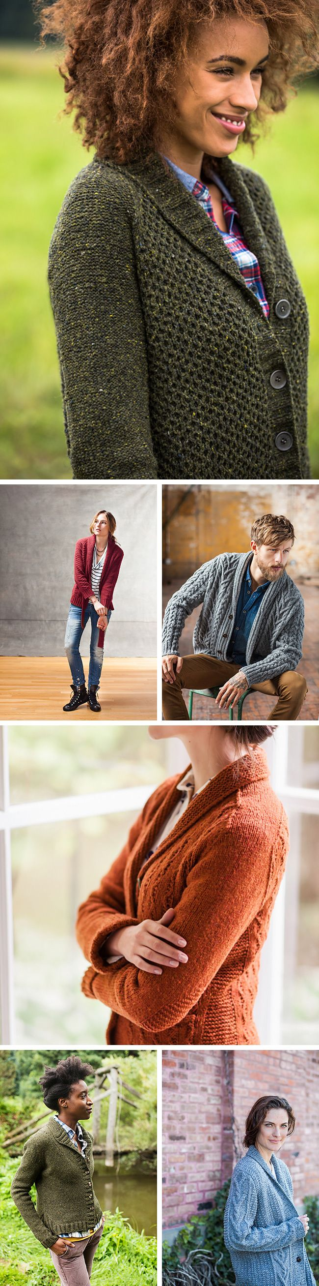 868 best Knitted Cardigans images on Pinterest | Knit patterns ...