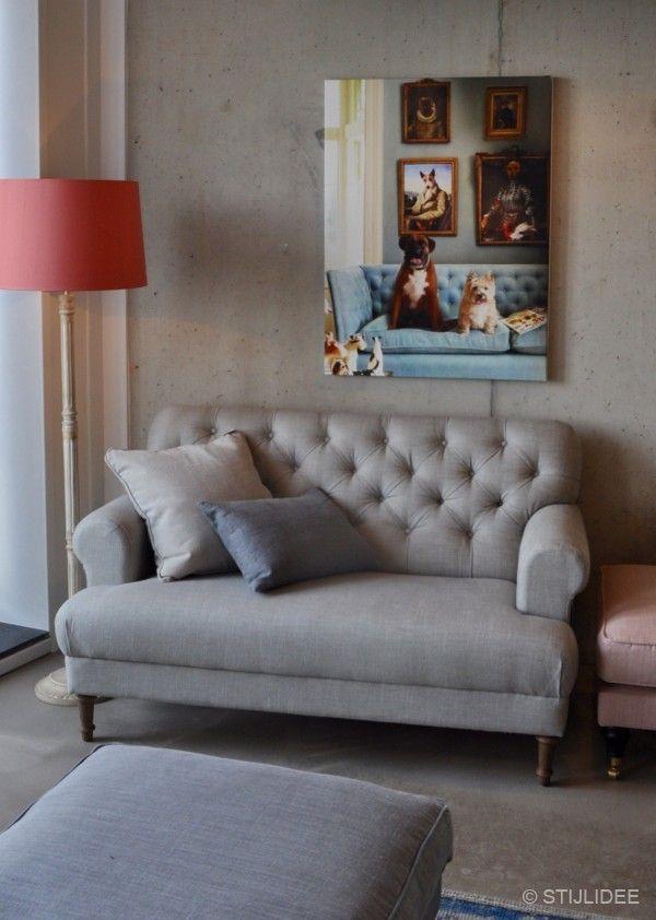 De nieuwste banken in landelijke romantische en vintage stijl bij in amsterdam - Sofa landelijke stijl stijlvol ...