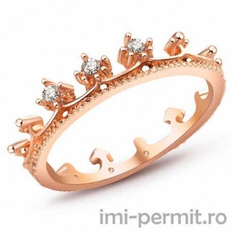 Inel dama tip coroana