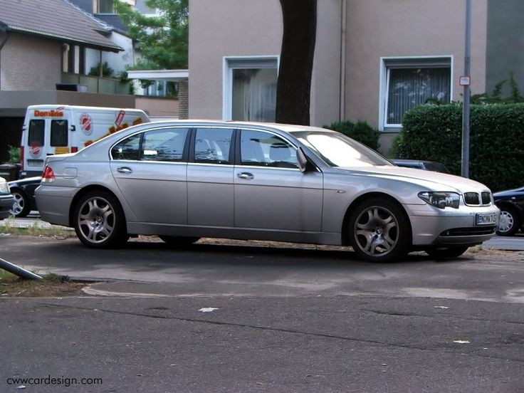 BMW 730 d limo. This, I ve never seen