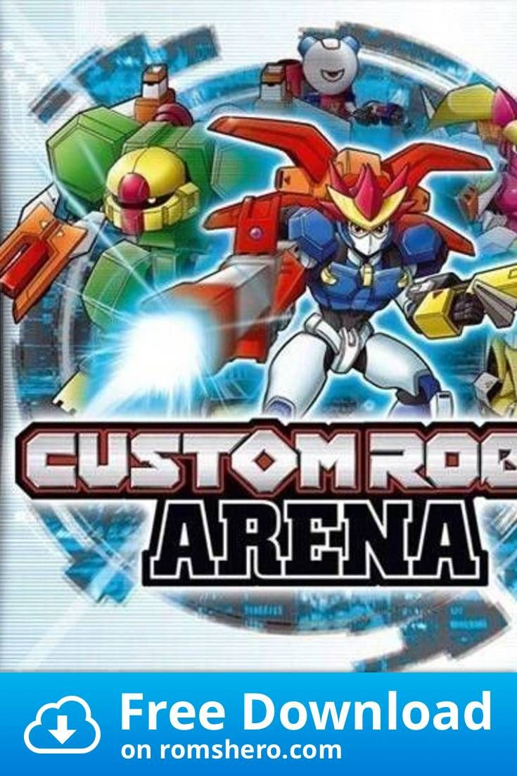 Download Custom Robo Arena Nintendo Ds Nds Rom In 2020 With