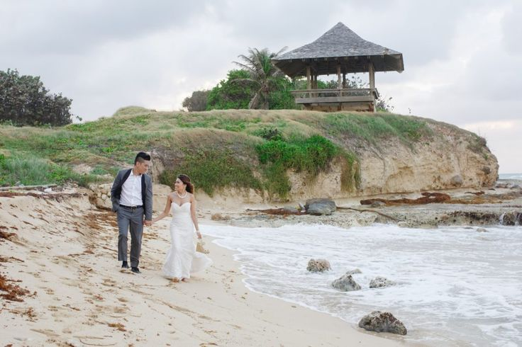 Ocean Edge Jamaica Wedding. Destination Wedding, Bride & Groom, Beach Wedding