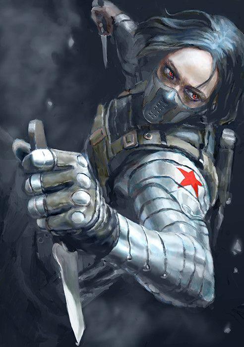 ArtStation - winter soldier, Ar Siu