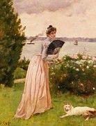 "New artwork for sale! - "" Stevens Alfred La Dame A L Eventail by Alfred Stevens "" - http://ift.tt/2oSCx8Z"