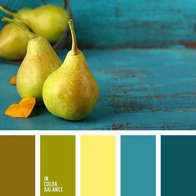 amarillo vivo, amarillo y esmeralda, amarillo y verde, color esmeralda, color esmeralda claro, color esmeralda oscuro, color pera, color pera verde, esmeralda y amarillo, marrón verdoso, matices de color esmeralda, tonos esmeraldas, turquesa y verde, verde y amarillo.