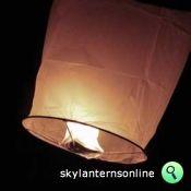 100% degradeable sky lanterns