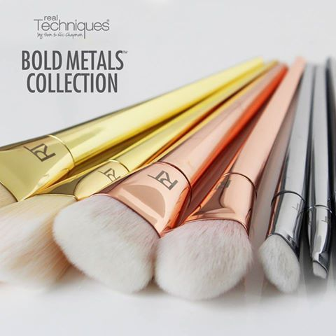 Real Techniques Bold Metals Collection
