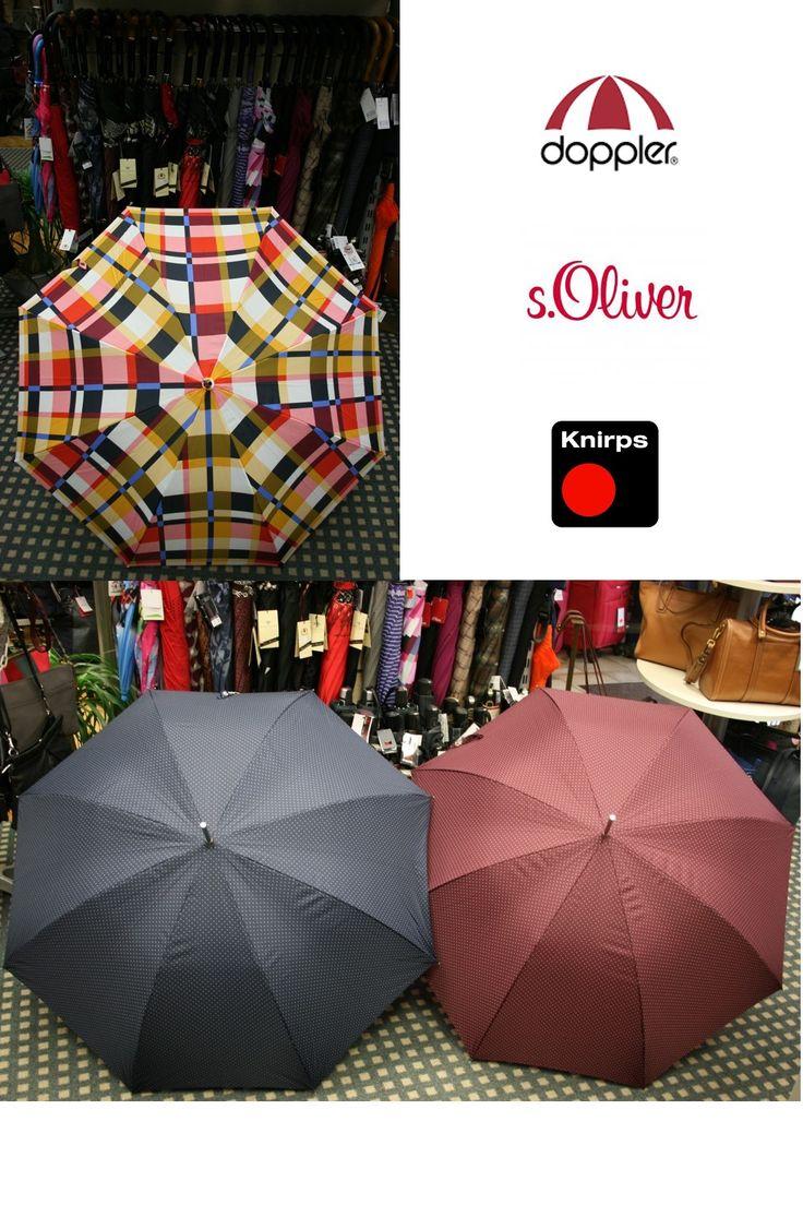 Spectacular Ob DOPPLER S uOLIVER oder KNIRPS ein passender Schirm f r die Regentage
