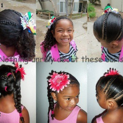 biracial hairstyles for little girls - Google Search