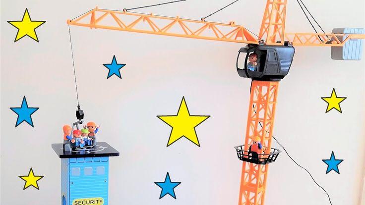 Toy Crane - Car Park - Lego Duplo Kids