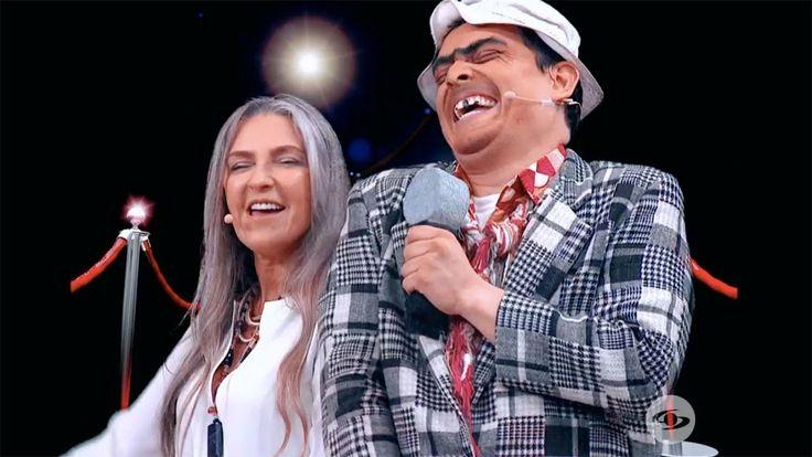 Para reír a carcajadas: Luz Amparo Álvarez imitó a Shakira, Esther Tulia...