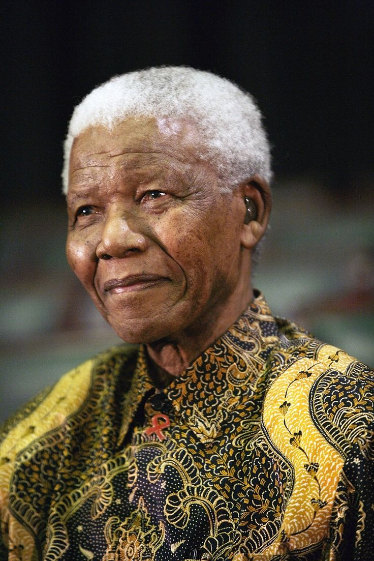 Nelson Mandela -- What is there to say?  The man is an amazingly strong moral compass for the world.