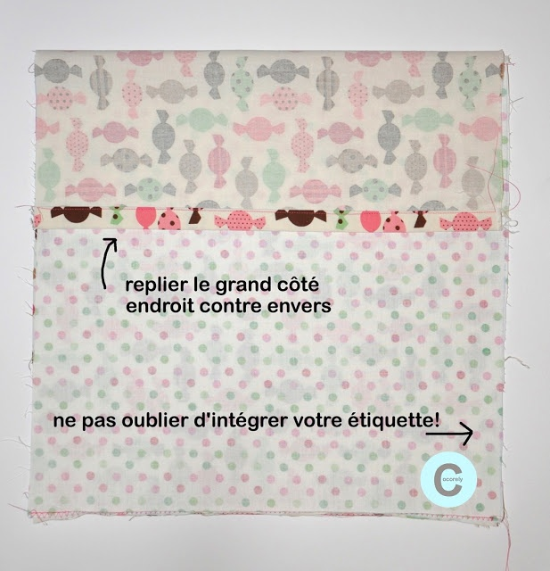 cocorely.blogspot.fr Taie d'oreiller minute (DIY)