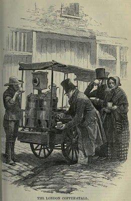 Victorian Food Carts - neat! || Victorian History: A Fast Food Generation (via Victorian History blog)
