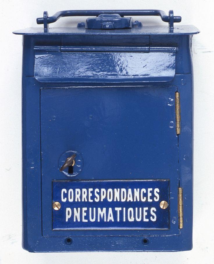 Bo te mobile delachanal pour pneumatiques 1900 1930 l 39 adresse mus e de la poste la poste dr - Boites aux lettres la poste ...