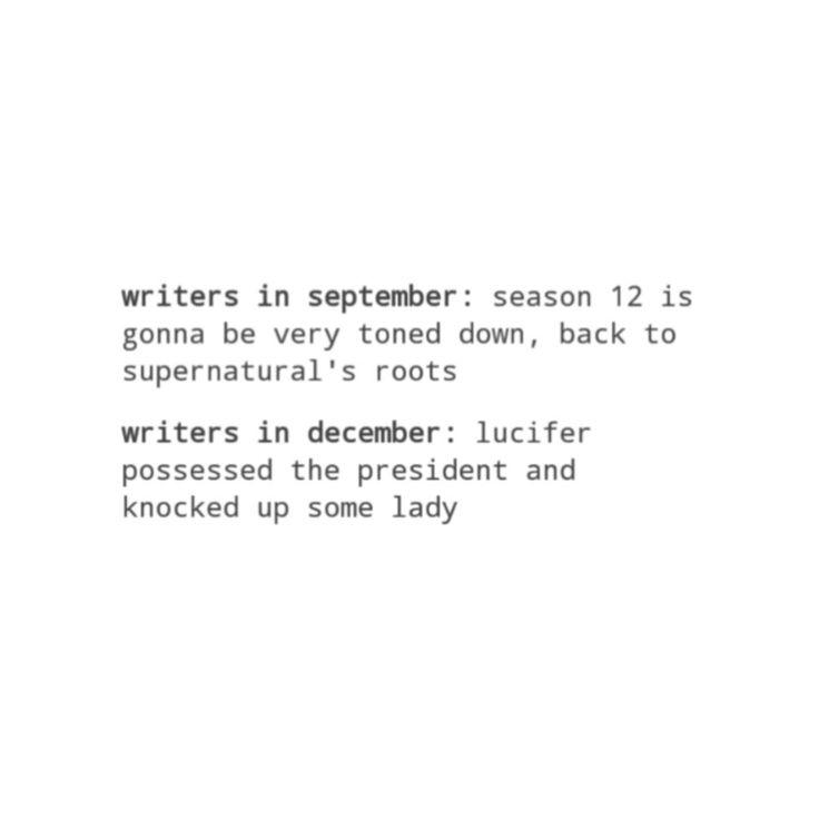 supernatural tumblr textpost funny lol
